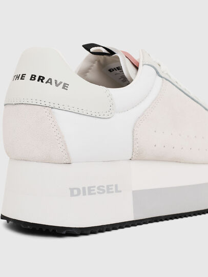Diesel - S-PYAVE WEDGE, White/Pink - Sneakers - Image 4