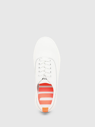 Diesel - S-VANEELA LOW, White/Orange - Sneakers - Image 5