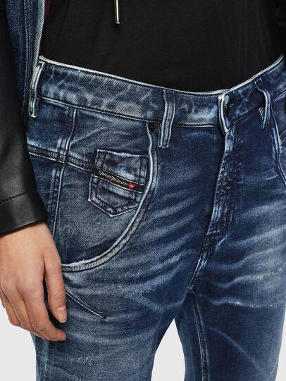 Diesel - Fayza JoggJeans 0096M, Dark Blue - Jeans - Image 3