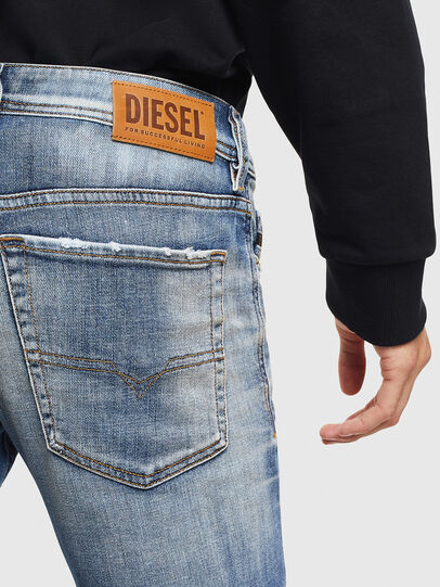 Diesel - Sleenker 009AF, Medium blue - Jeans - Image 4