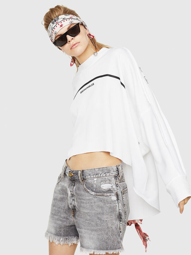 Diesel - F-ZOIE, White - Sweaters - Image 3