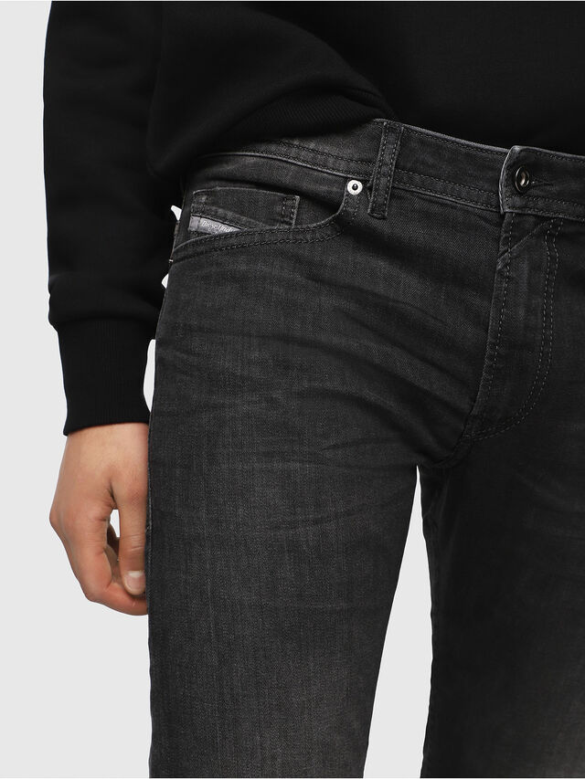 Diesel Thommer 0687J, Black/Dark grey - Jeans - Image 3