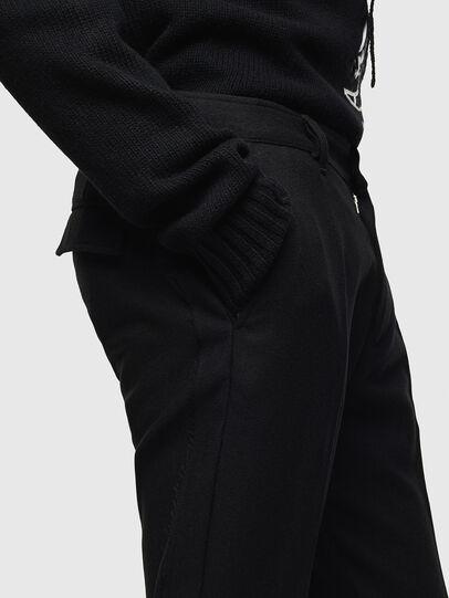 Diesel - P-RING-SMP, Black - Pants - Image 5