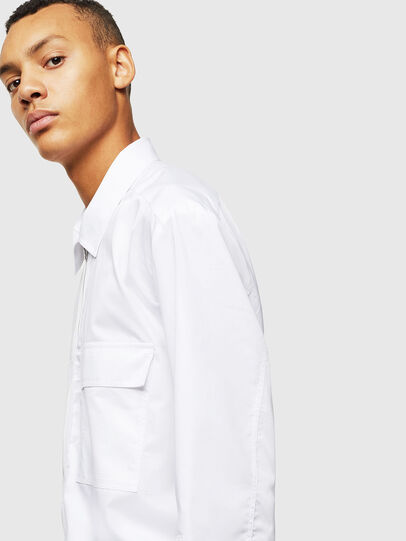 Diesel - S-PATCH-P, White - Shirts - Image 3