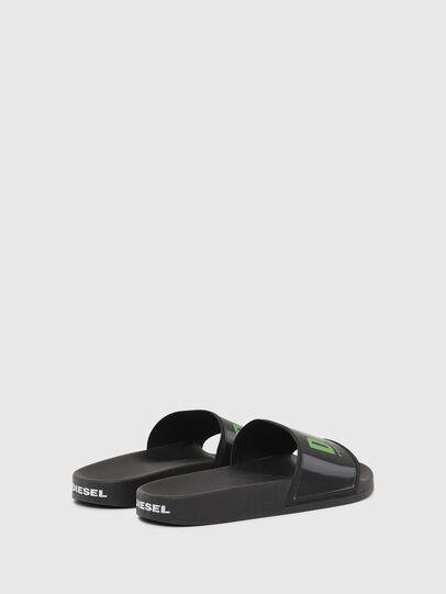 Diesel - SA-VALLA, Black - Slippers - Image 3