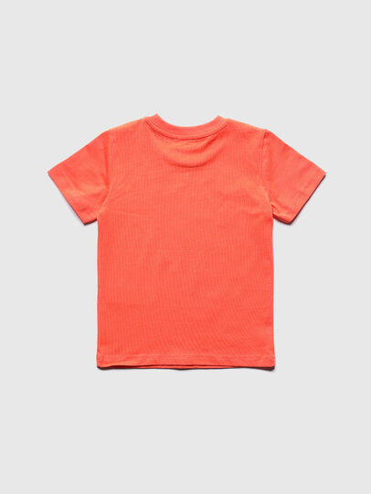 Diesel - TDIEGOS3B-R, Orange - T-shirts and Tops - Image 2