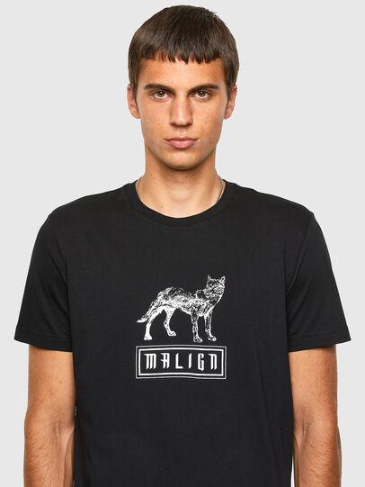 Diesel - T-DIEGOS-N20, Black - T-Shirts - Image 3