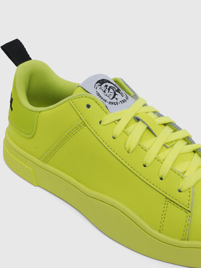Diesel - S-CLEVER LOW LACE W, Yellow Fluo - Sneakers - Image 4
