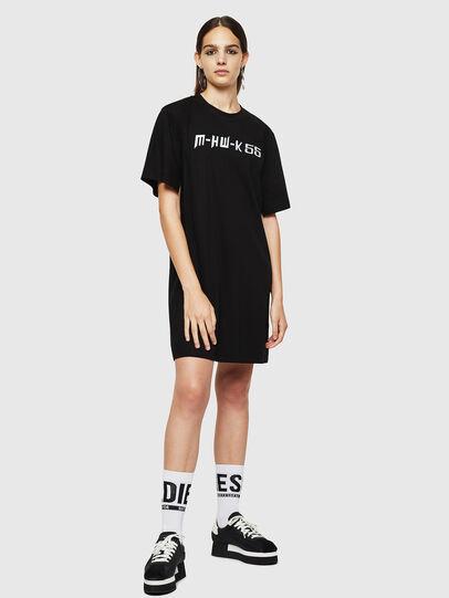 Diesel - D-FELIXER, Black - Dresses - Image 5