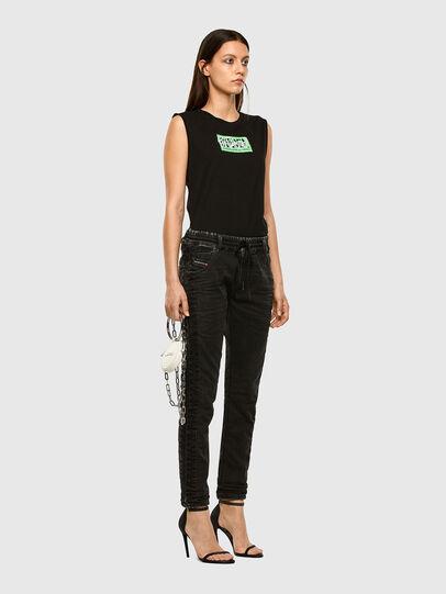 Diesel - KRAILEY JoggJeans® 009FY, Black/Dark grey - Jeans - Image 6