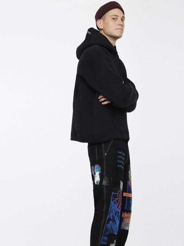 Diesel - S-GORDON, Black - Sweaters - Image 3