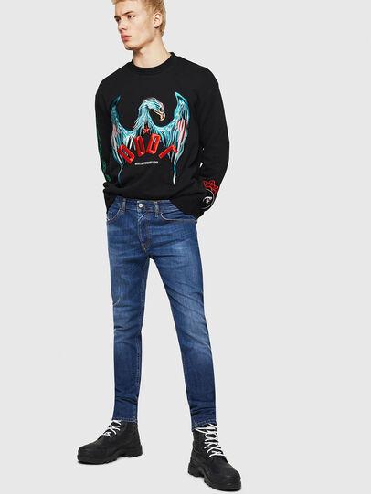 Diesel - Thommer 082AZ, Dark Blue - Jeans - Image 4