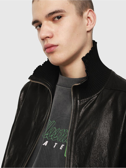Diesel - L-LYSSEN,  - Leather jackets - Image 3
