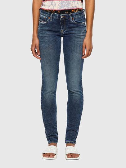 Diesel - GRACEY JoggJeans® 069SR, Dark Blue - Jeans - Image 1