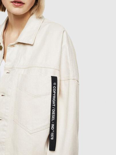 Diesel - DE-JALA, White - Denim Jackets - Image 6