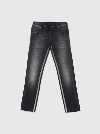 Diesel - KROOLEY-J JOGGJEANS, Black - Jeans - Image 1