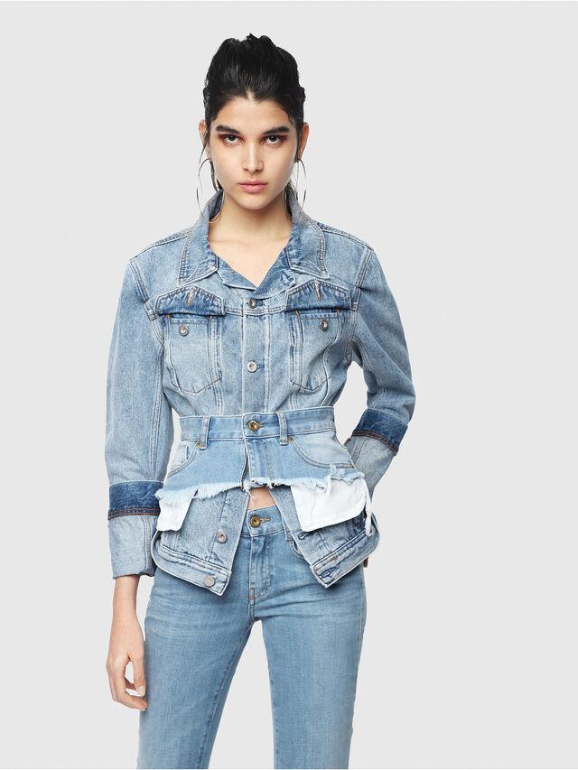 Diesel - DE-NALINI, Blue Jeans - Denim Jackets - Image 6