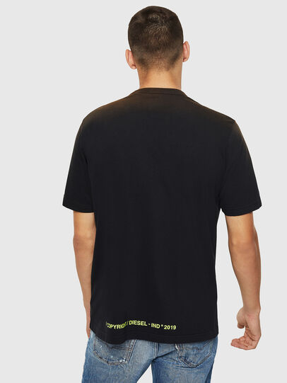 Diesel - T-DIKEL, Black - T-Shirts - Image 2