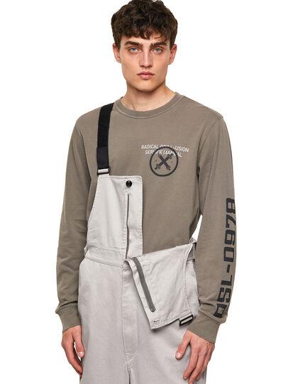 Diesel - P-JUMP-A, Light Grey - Jumpsuits - Image 4