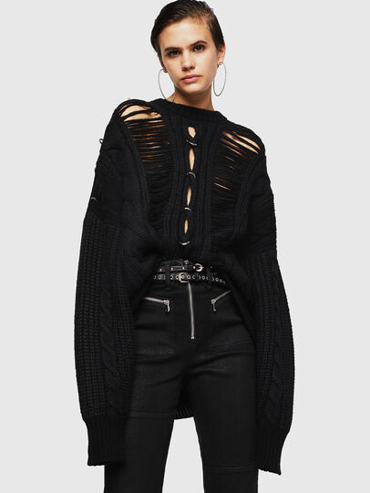 Diesel - MEBLY, Black - Knitwear - Image 4