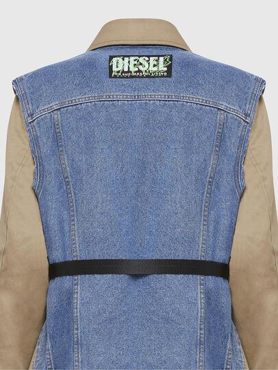 Diesel - W-CHARIE, Beige/Blue - Winter Jackets - Image 5