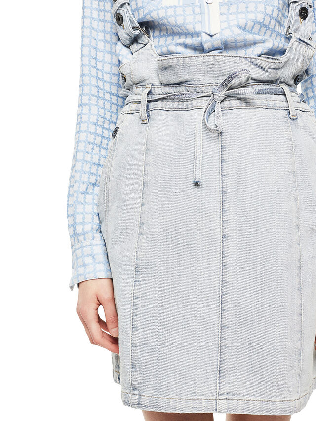 Diesel - ANNETTE, Light Blue - Skirts - Image 5