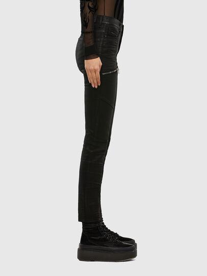 Diesel - D-Ollies JoggJeans® 069RK, Black/Dark grey - Jeans - Image 4