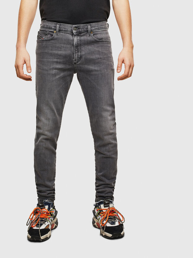 D-Amny 009AJ, Black/Dark grey - Jeans