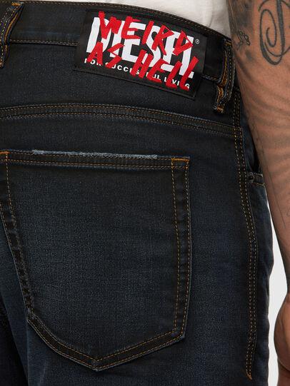 Diesel - D-VIDER JoggJeans® 009HE, Dark Blue - Jeans - Image 5
