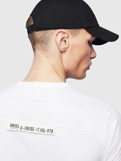 Diesel - T-RABEN-POCKET, White - T-Shirts - Image 6