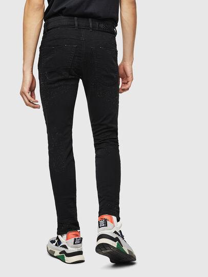 Diesel - Krooley JoggJeans 0092N, Black/Dark grey - Jeans - Image 2