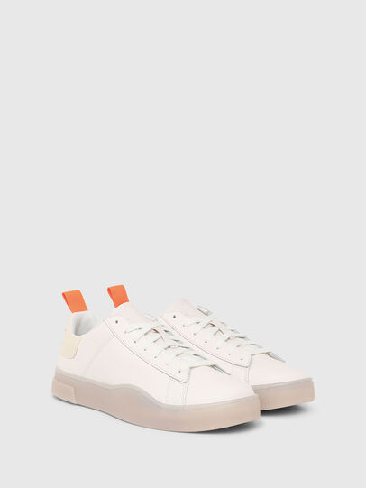 Diesel - S-CLEVER LOW LACE, White - Sneakers - Image 2