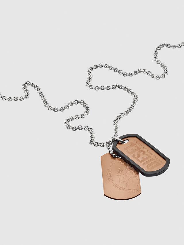 NECKLACE DX1096, Bronze Bright
