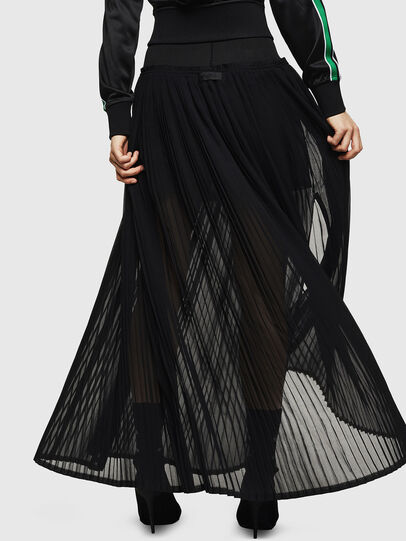 Diesel - O-TERUPE, Black - Skirts - Image 2