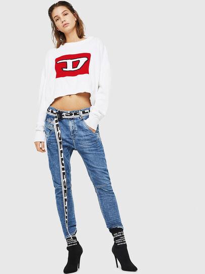 Diesel - Fayza JoggJeans 0870K, Light Blue - Jeans - Image 5