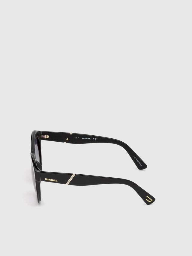 Diesel - DL0252, Black - Eyewear - Image 3
