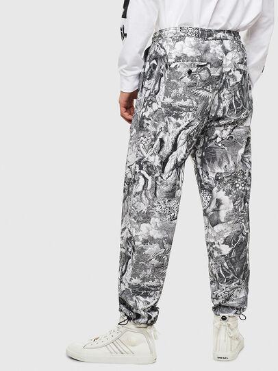 Diesel - P-TOLL-KAOS, Black/White - Pants - Image 2