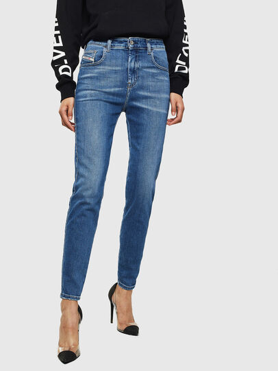 Diesel - Slandy High 009AG, Medium blue - Jeans - Image 1