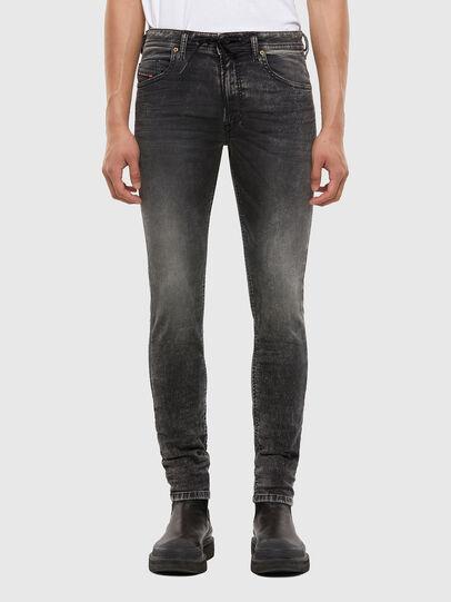 Diesel - Thommer JoggJeans® 009KC, Black/Dark grey - Jeans - Image 1
