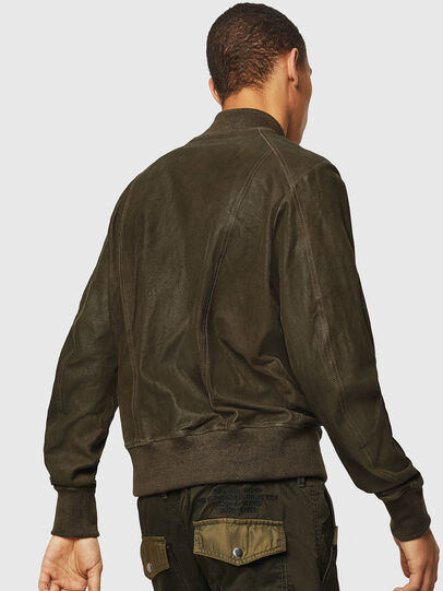 Diesel - L-NIKOLAI, Military Green - Leather jackets - Image 2