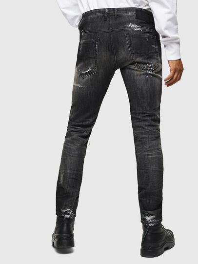 Diesel - Thommer JoggJeans 0098E, Black/Dark grey - Jeans - Image 2
