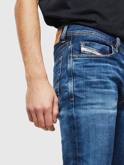 Diesel - Sleenker 0097T, Dark Blue - Jeans - Image 3
