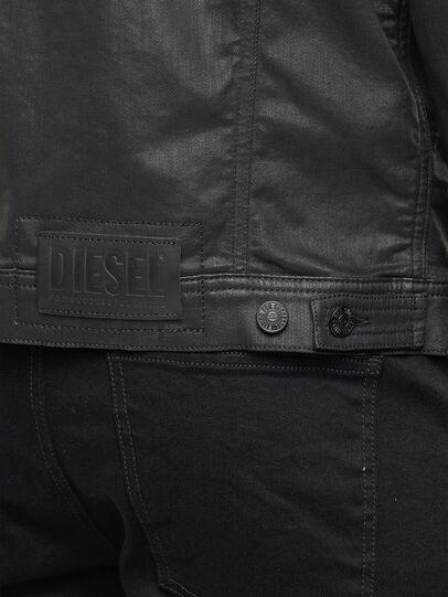 Diesel - NHILL-TW, Black - Denim Jackets - Image 5