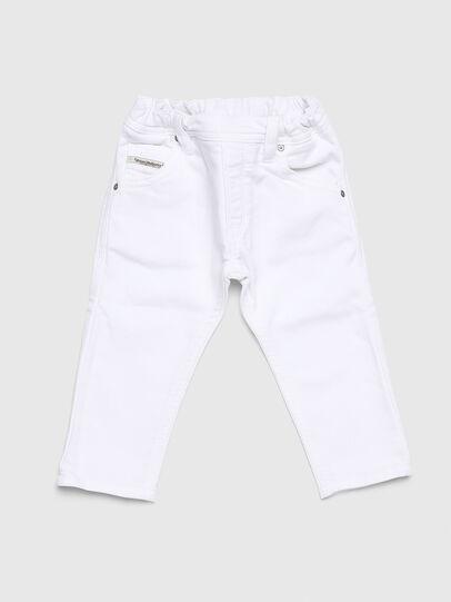 Diesel - KROOLEY JOGGJEANS-B-N, White - Jeans - Image 1