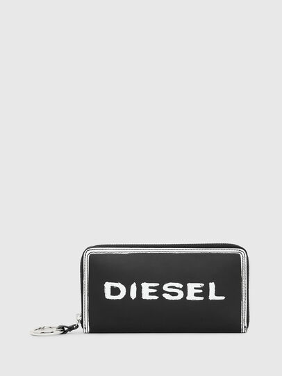 Diesel - GRANATO LC, Black/White - Zip-Round Wallets - Image 1
