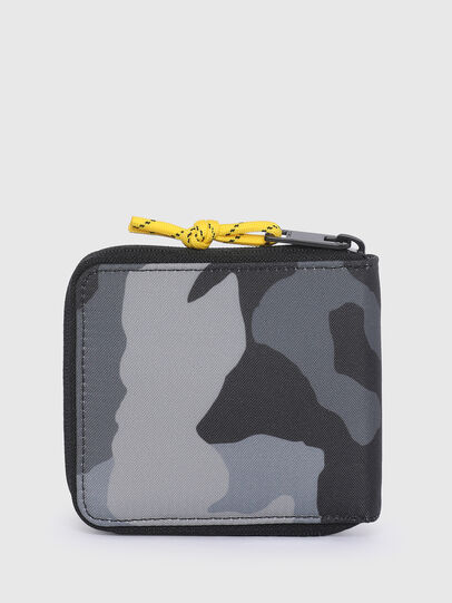 Diesel - ZIPPY HIRESH S II, Grey/Black - Zip-Round Wallets - Image 2