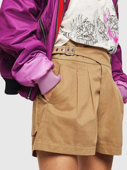 Diesel - S-BISA, Light Brown - Shorts - Image 5