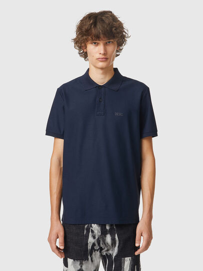 Diesel - T-SMITH-B2, Blue - Polos - Image 1