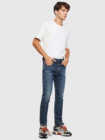 Diesel - D-Strukt 009AR, Medium blue - Jeans - Image 7