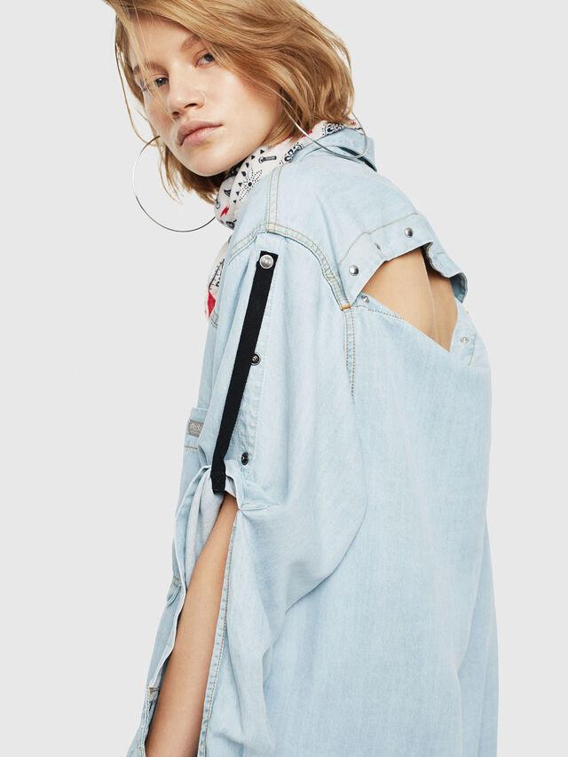 Diesel - DE-SUP, Blue Jeans - Dresses - Image 4